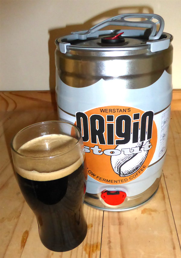 How to brew a copy of Origin Coffee Oatmeal Stout - a thick, rich and creamy beer with tones of chocolate
