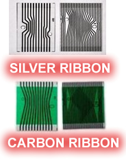 Mercedes E-Class Carbon and Silver Ribbon Cables - make sure you get the right type or your repair will fail
