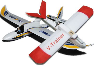 Suitable aircraft for beginners RC Night Flying include the Bixler and V-Trainer
