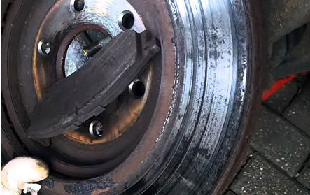 When should you replace brake discs?  @ www.jamesandtracy.co.uk